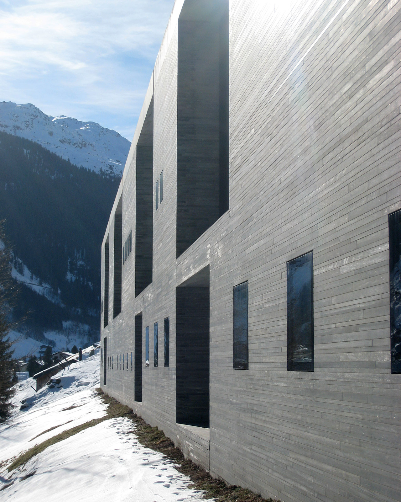 Therme Vals – Apartment