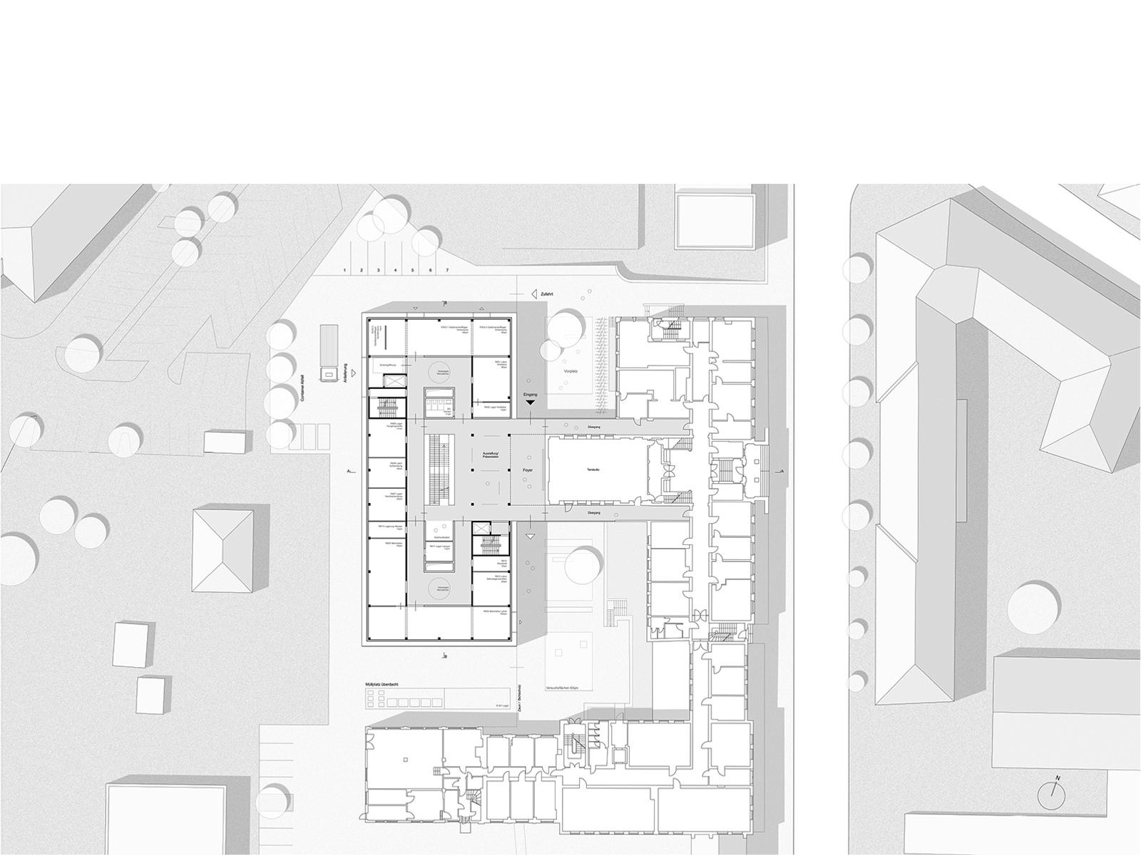Neubau Laborgebäude Bauhaus Universität Weimar