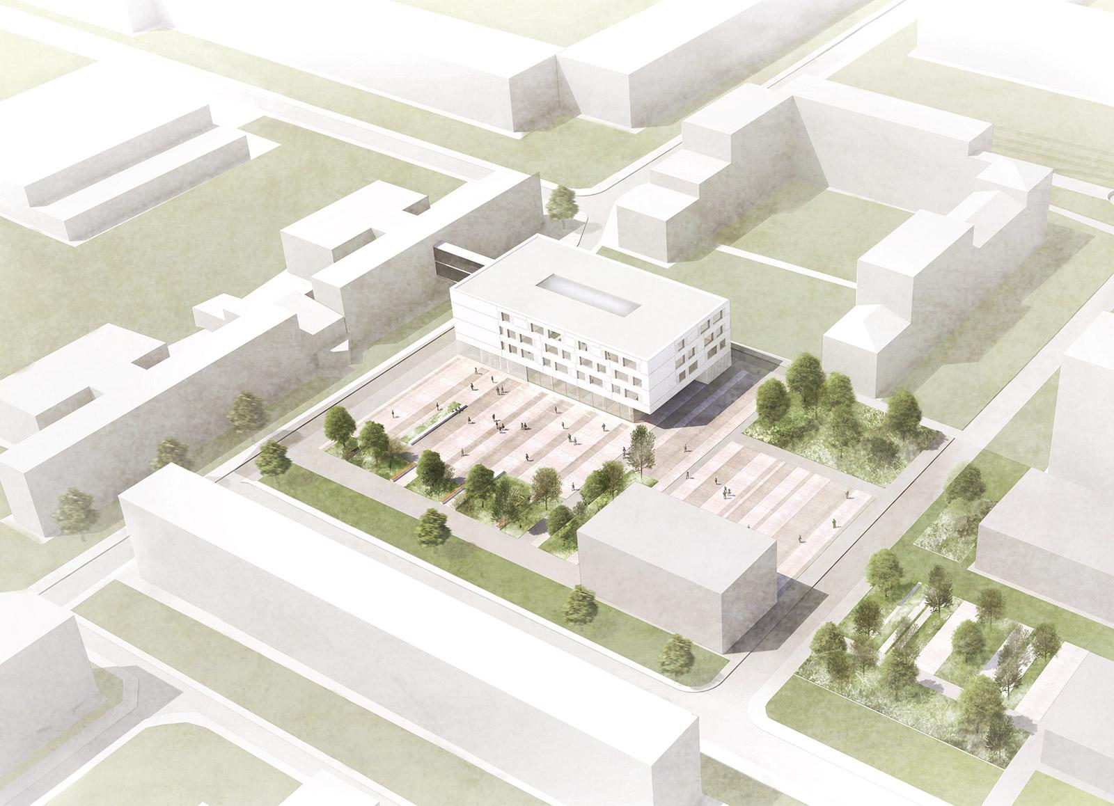 Erweiterungsbau Heinitz-Gymnasium Rüdersdorf