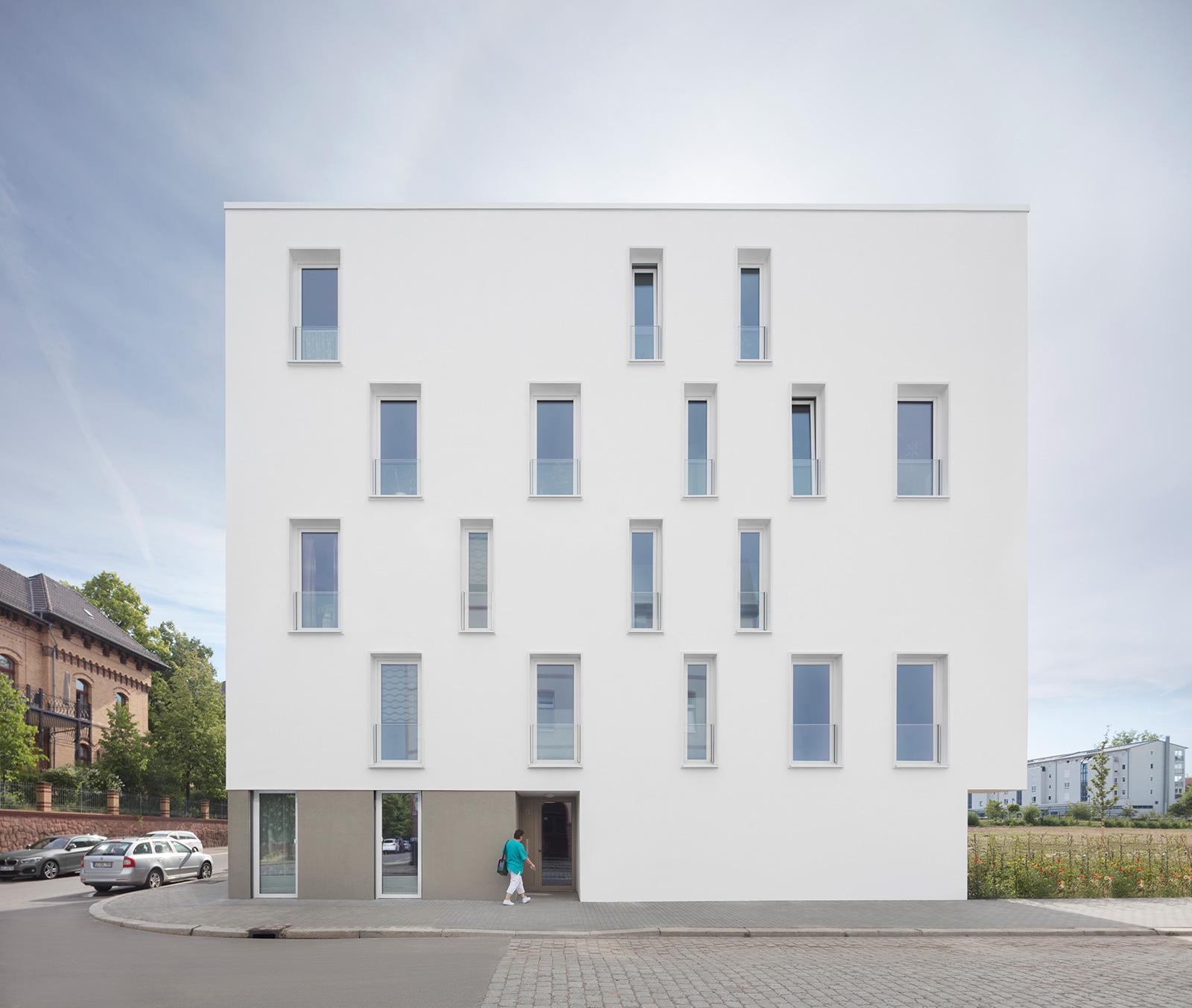 Wohnungsbau Bugenhagenstraße Halle/Saale
