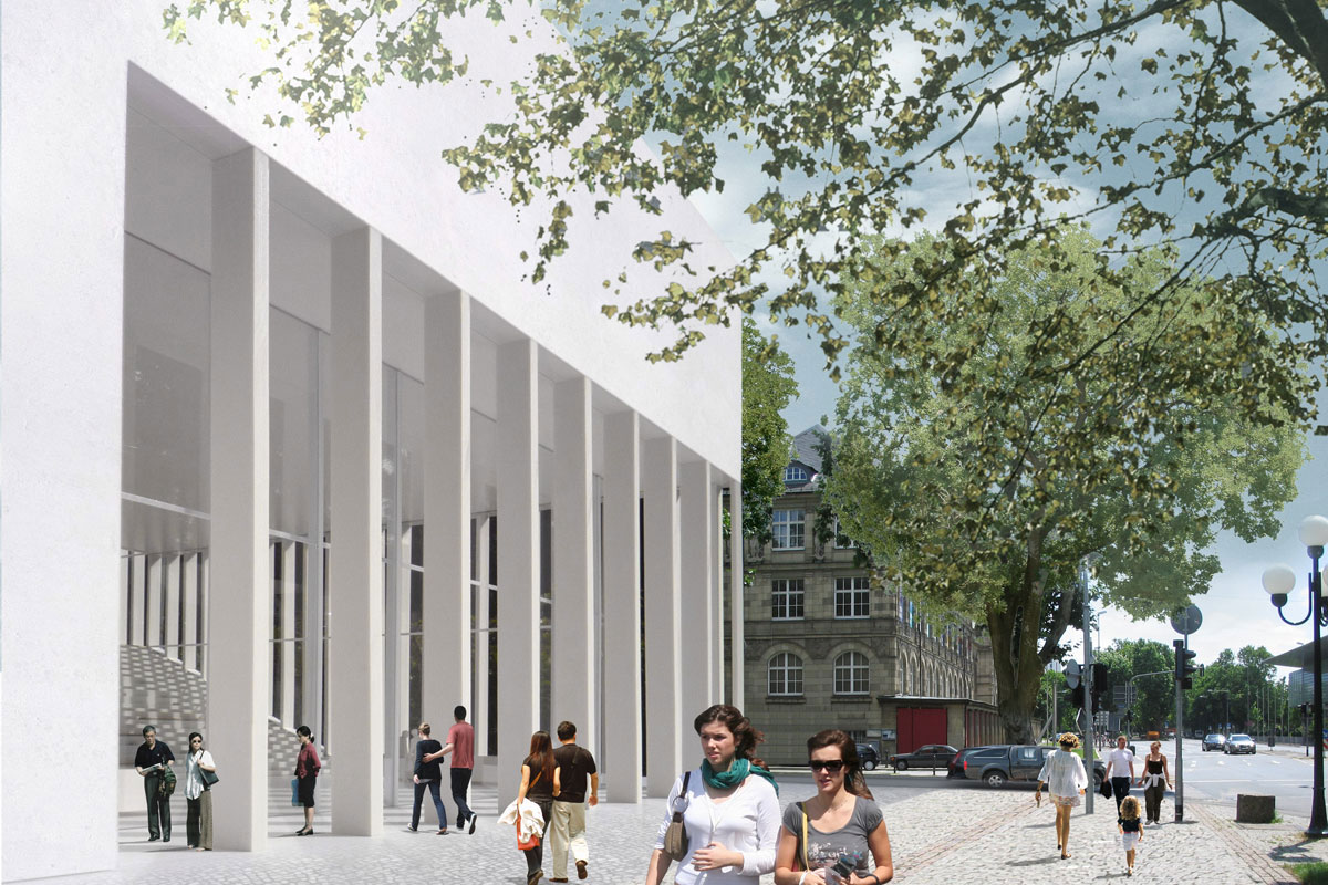 Neubau Stadtmuseum Wiesbaden