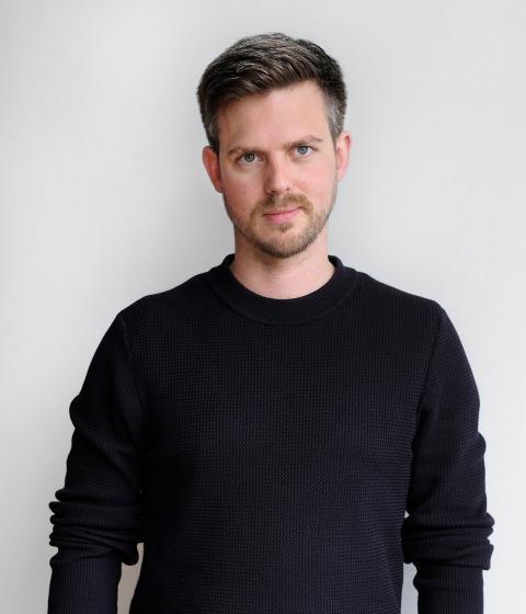 Portrait of Simon Bagge